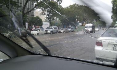 Flooding in Sai Gon