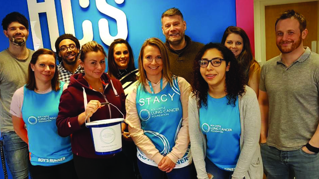 ACS nominated us as it Charity of the Year after their colleague, Mark, died of lung cancer