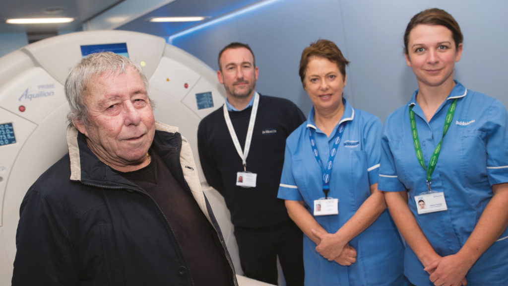 Bill attended a lung health check and had his lung cancer diagnosed early