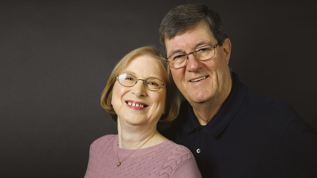 Carol is living with lung cancer