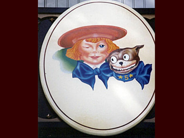 Hand Painted Buster Brown