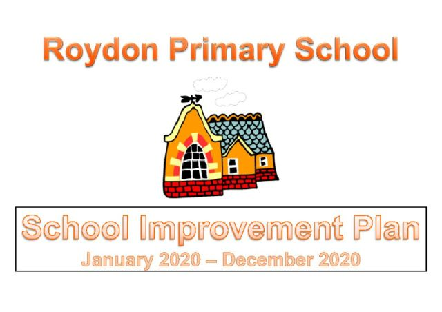 thumbnail of School Improvement Plan 2020