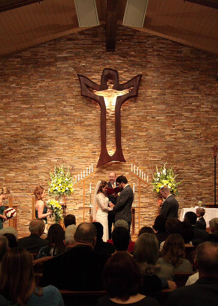 church wedding are rewarding as a wedding photographer
