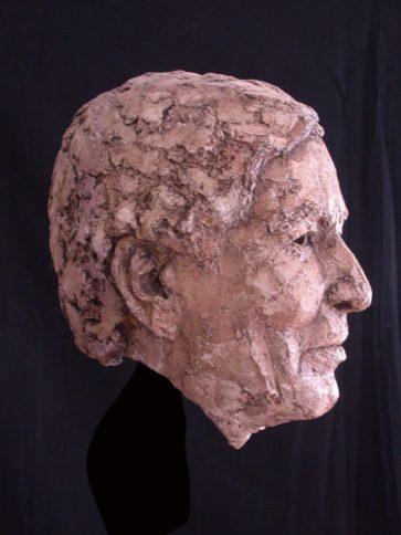 portret prins Claus keramiek