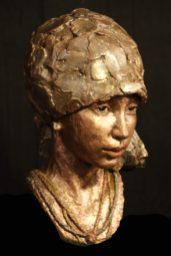 portretje in brons