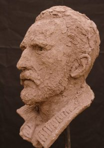 portret Van Gogh keramiek
