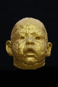 portret bronzen kopje