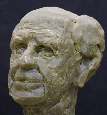 portret Popper boetseerwas