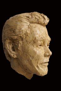 portret klei
