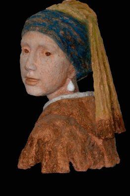 portret Meisje met parel - Roy Greve