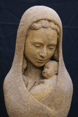 portret Maria Jezus