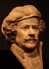 portret Rembrandt op latere leeftijd