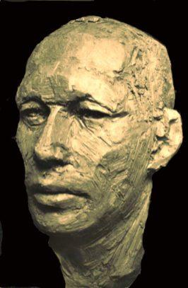 portret mannen kop