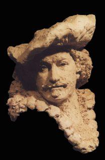 Buste Rembrandt zelf