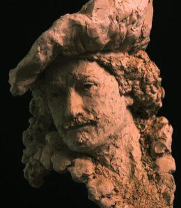 borstbeeld Rembrandt