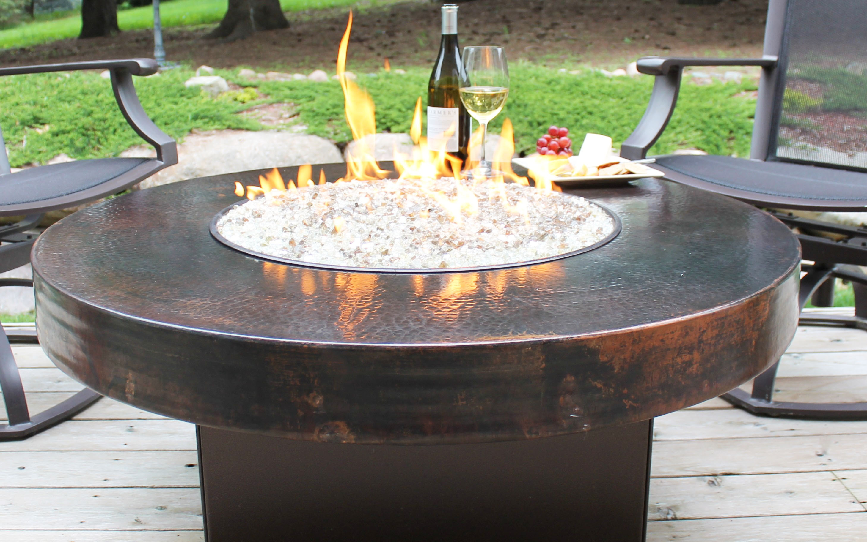 Firepit Conversion From Propane To Natural Gas