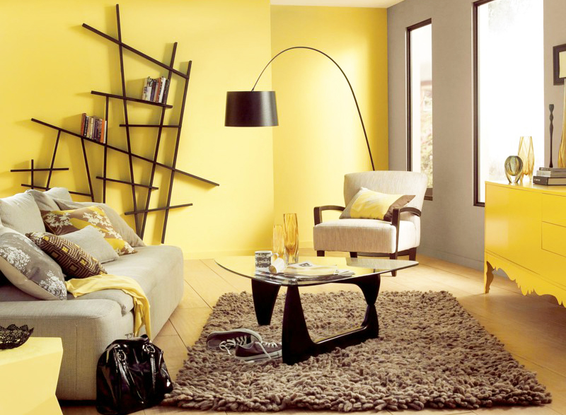 Warm Color Scheme Theory for Home Decoration | Roy Home Design