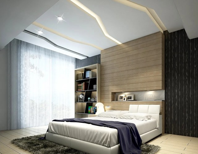 Bedroom Ceiling Design - Creative Choices and Features ...
