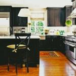 Custom Black Kitchen Cabinets Roy Home Design