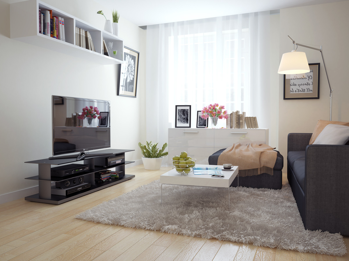 Read on for tips on how to choose a great area rug. Rugs for Cozy Living Room Area Rugs Ideas | Roy Home Design