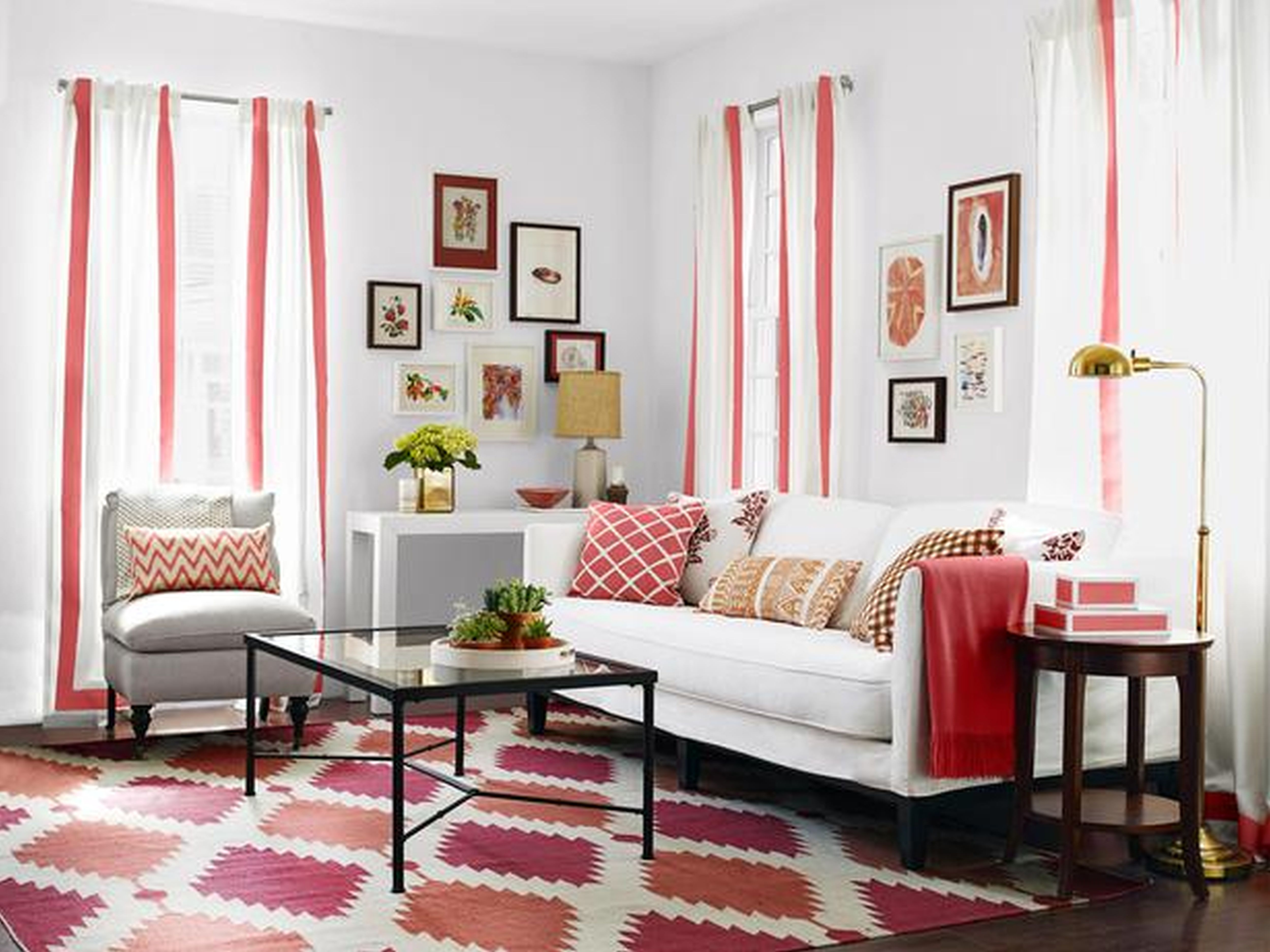 Red Living Room Ideas to Decorate Modern Living Room Sets ... on Living Room Design Ideas  id=91334