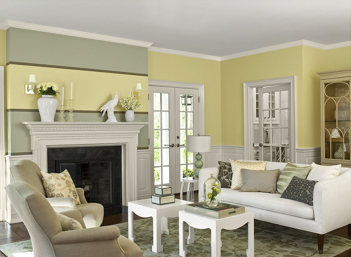 Best Paint Color For Living Room Ideas To Decorate. Pale Yellow Living Room  Walls Wonderful Decoration ... Part 27