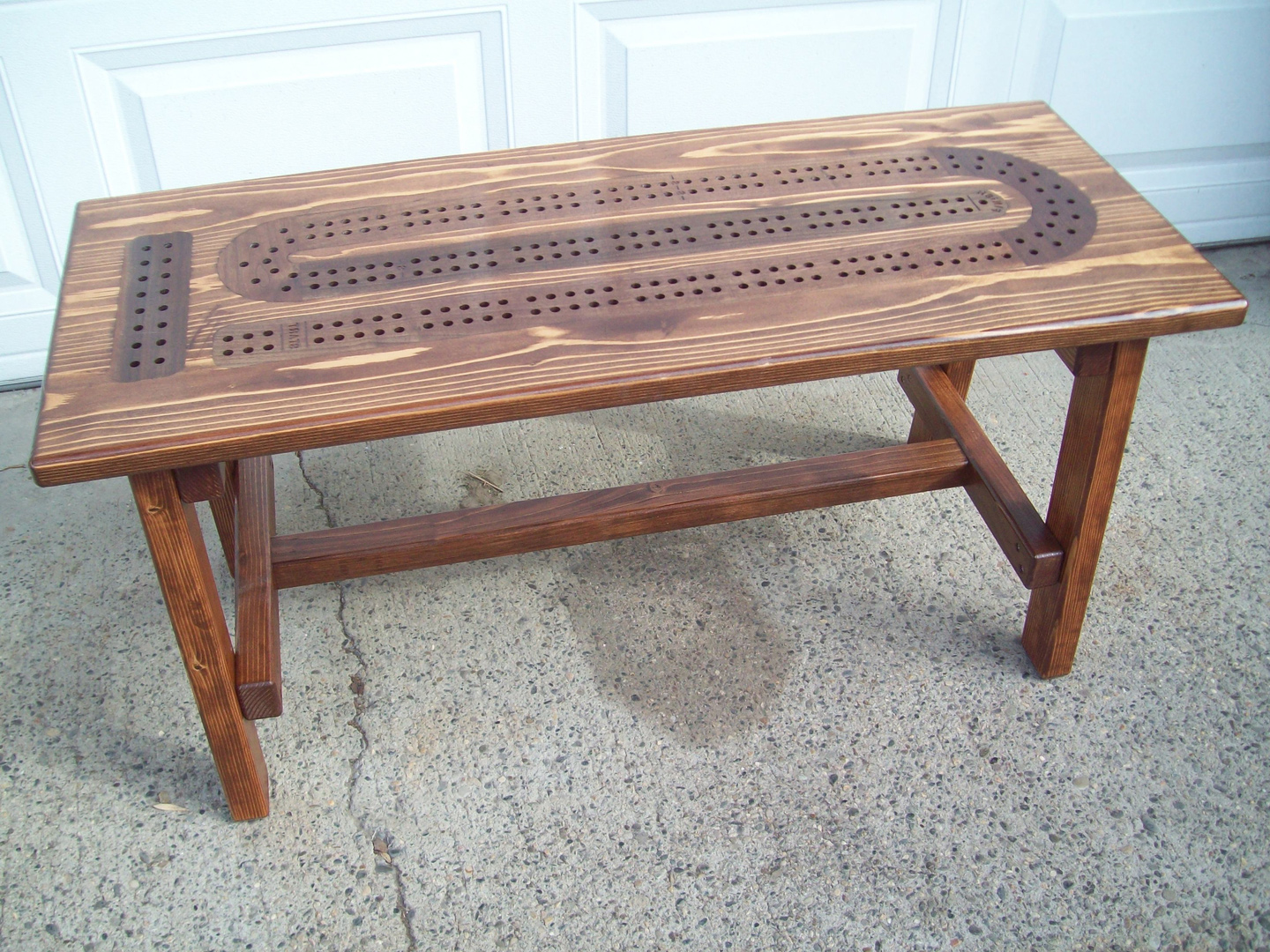 Cribbage Board Coffee Table Plans