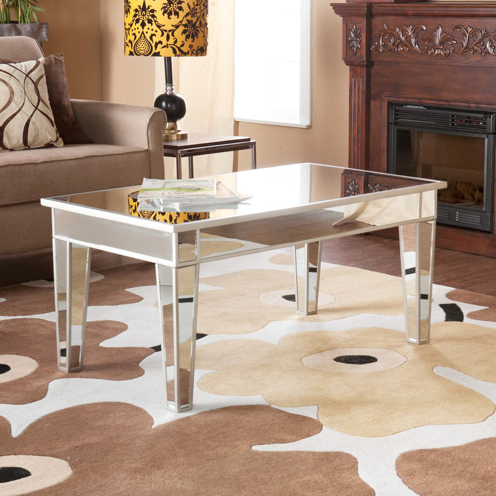 Side White Table Wood