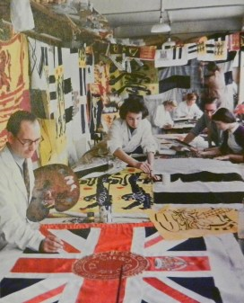Working at Benjamin Edgington Ltd. 1951.