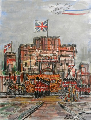 Buckingham_Palace, painting,