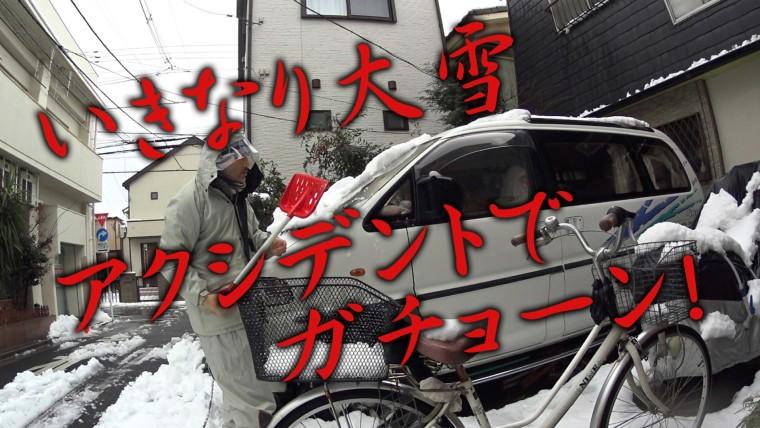 雪かき2016-01-18