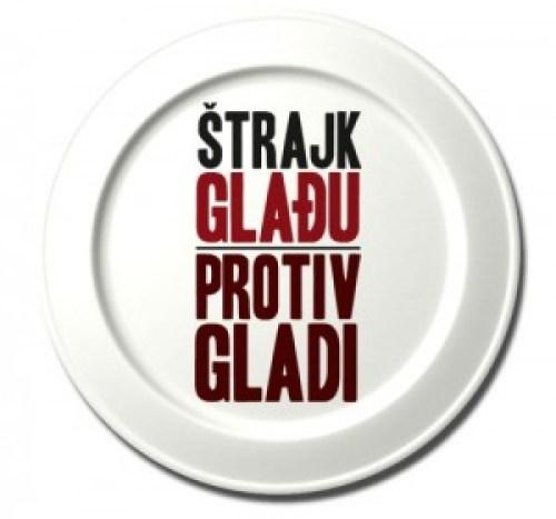Logo kampaně Štrajk gladu protiv gladi