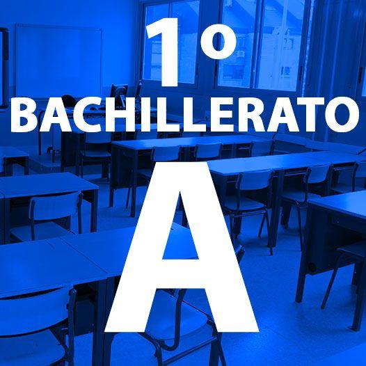 1º BACHILLERATO A