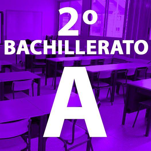 2º BACHILLERATO A