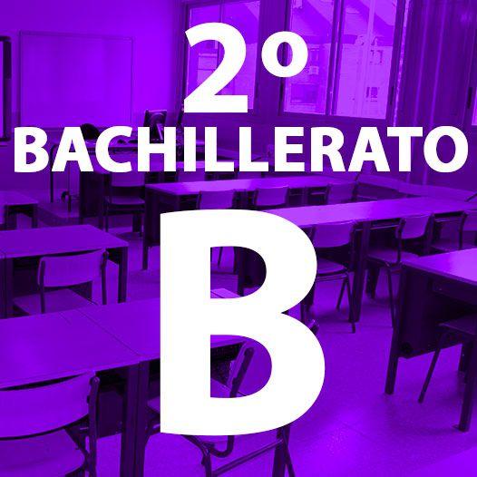 2º BACHILLERATO B