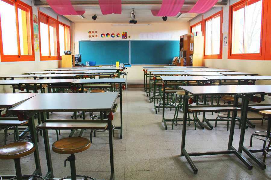 Aula de Educación Plástica IES Las Rozas 1