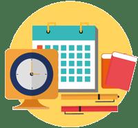 simbolo horarios IES Las Rozas 1