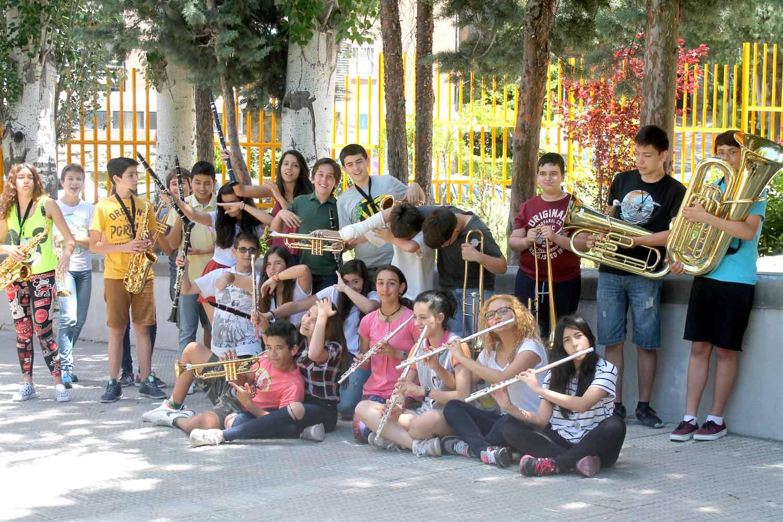 ClassBand Yamaha Aula de música IES Las Rozas 1