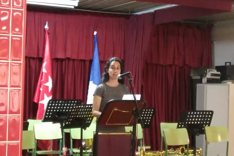 Cristina Boers. Premio Nacional de Secundaria