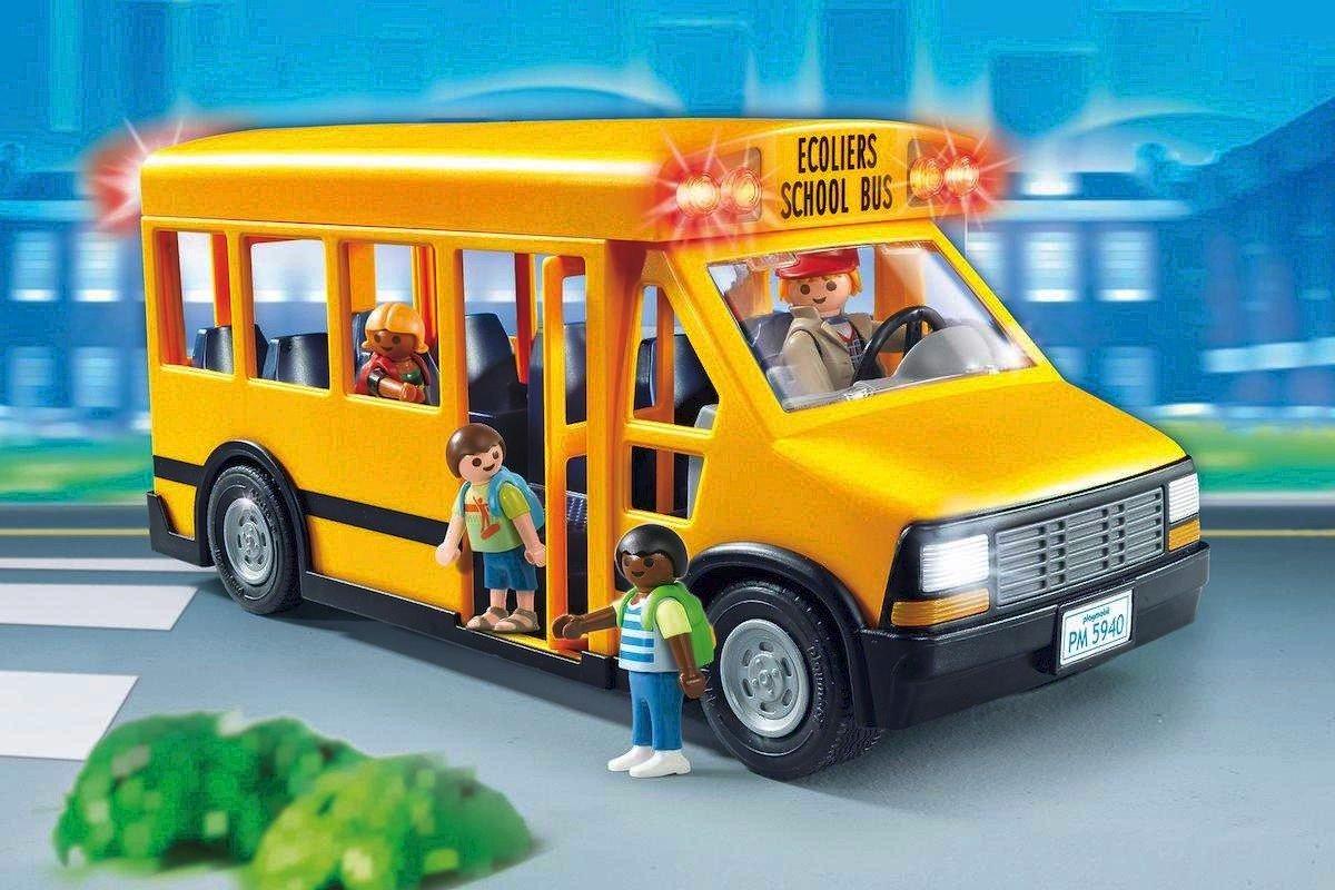 Ruta de autobús escolar – 8, 9, 10 de Septiembre