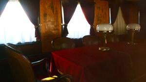 Wnętrze salonki Bieruta.