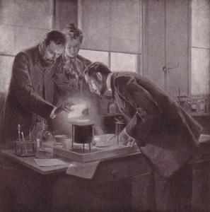Maria i Piotr Curie sprawdzali działanie substancji aktywnych na własnej skórze. I nie przerywali eksperymentu, choć rana na ramieniu Piotra stawała się coraz głębsza