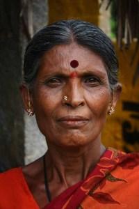 Hinduska z bindi