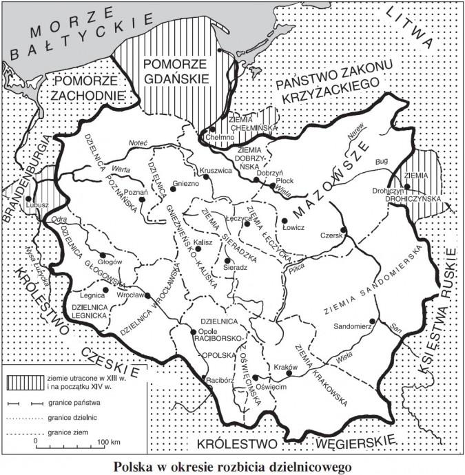 Co się przyczyniło do podziału Polski na dzielnice przez Bolesława Krzywoustego?
