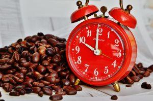 Kawa i zegar