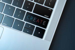 Przycisk CREATE