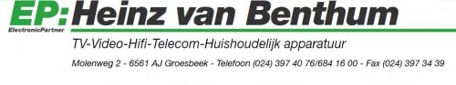 EP Heinz van Benthum