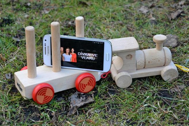 Dívka ve vlaku - audiokniha