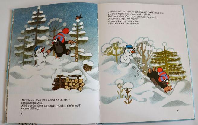 Krtek a sněhulák