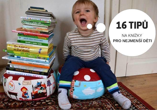 16 tipů na knížky pro děti